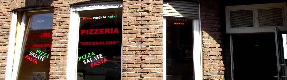 Pizzeria Arcobaleno   50259 Pulheim Stommeln   Pasta   Pizzataxi   Frei Haus   Lieferung   Italienisch   Gemüsegerichte    Firmen