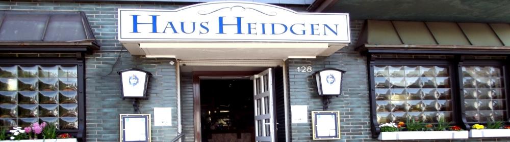 Haus Heidgen | Heinrich-Lübke-Str. 128 | Leverkusen Schlehbusch | International | Grill Gerichte | Mittagstisch | Terrasse | Biergarten | Veranstaltungsraum | Kegelbahn | Parkplätze