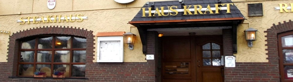 Haus Kraft | Steakhaus | Dalmatinische & Internationale Spezialitäten | Biergarten | Partyservice | Gesellschaftsräume