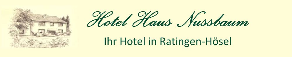 Hotel Haus Nussbaum | Ratingen-Hösel