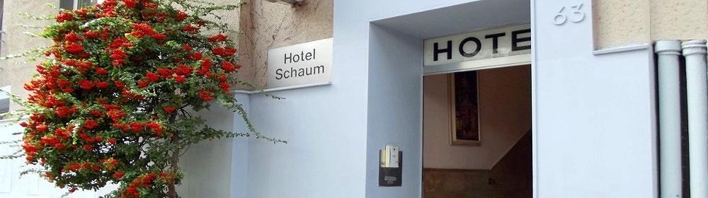 Hotel Schaum | Düsseldorf| City | Zentrum | Hauptbahnhof  – Königsallee – Messe – Altstadt – Stadtmitte | Günstig | Preiswert | Gruppe – Clubs – Vereine | Appartements – Zimmer – Mehrbett